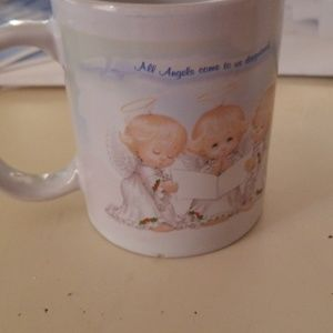 Angels are never too distant to know you mug